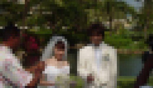 サイパンで挙式した二人の新婚初夜のハメ画像