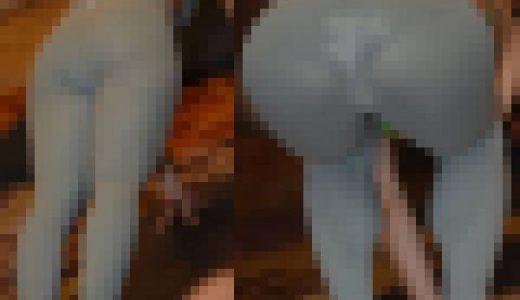 【ヨガ写真集】ホットヨガ体験で汗だく…真剣だから透けてるのに気付かない!