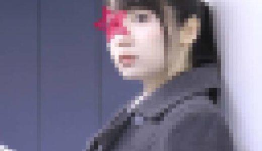 【電車チカン】顔出し制服J○★セ○ター直後の受○○を狙い撃ち★真面目巨乳に中出し&顔射!