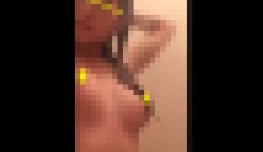 (無)河北麻〇子激似!?巨乳美人Kの風呂上り自撮りオ〇二ー