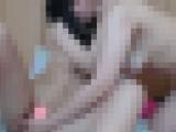 【素人】お姉さん系と萌え系の女子大生★潮ふき本気レズプレー★フルバージョン45分 ?