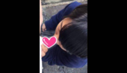 J〇カップルの露出はめ動画