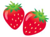 二人のイチゴちゃん(写真付き)