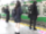 電車痴漢】制服っ娘いじくり 12